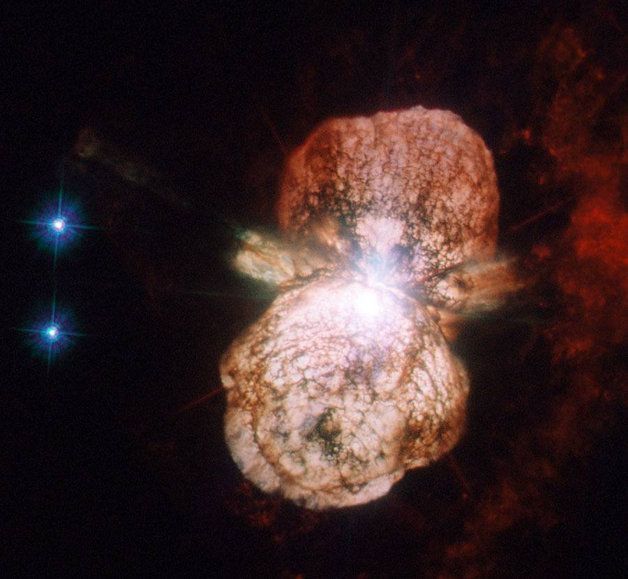 Hubble Flickr Homunculus Nebula