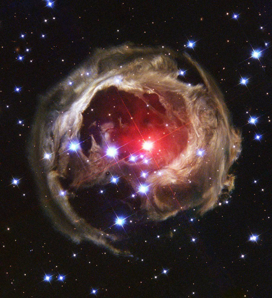 Hubble Flickr Supergiant Star