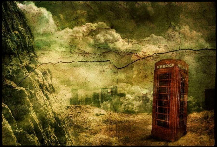 Telephone Line Portrait