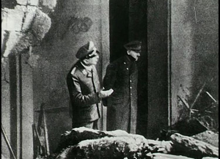 Last Photo Adolph Hitler