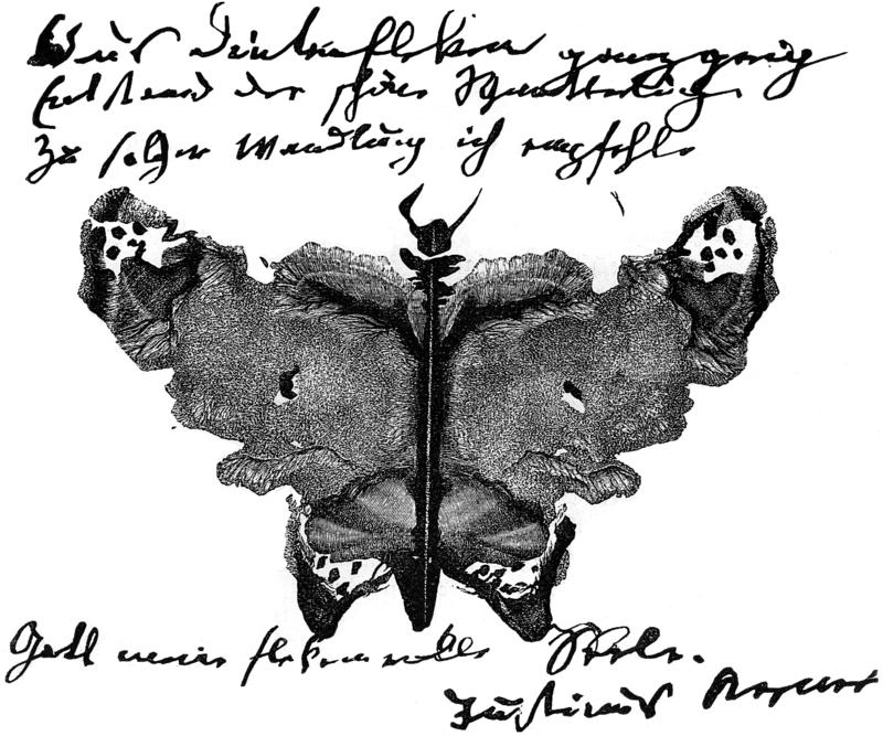 Rorschach Inkblots Kelcksographie