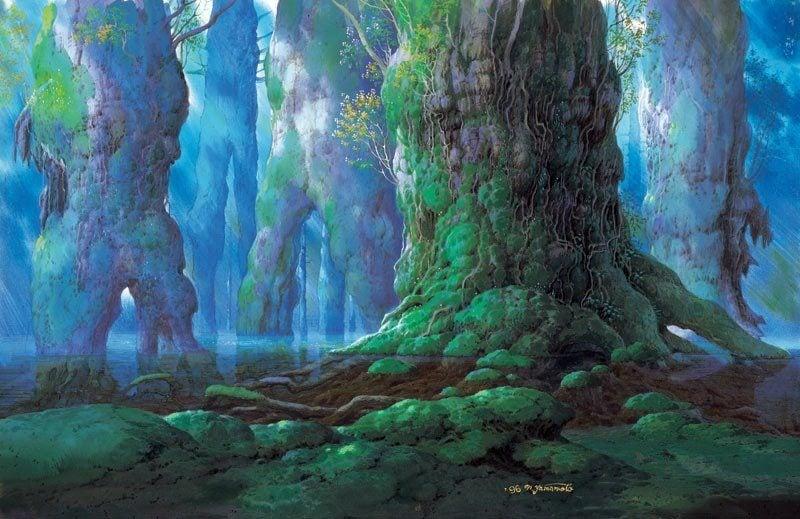 Yamamoto Nizo Mononoke Forest