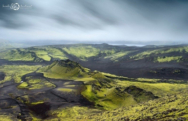 Aerial Photographs of Iceland Hills