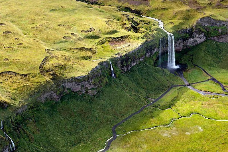 Waterfall in Ireland Sarah Martinet