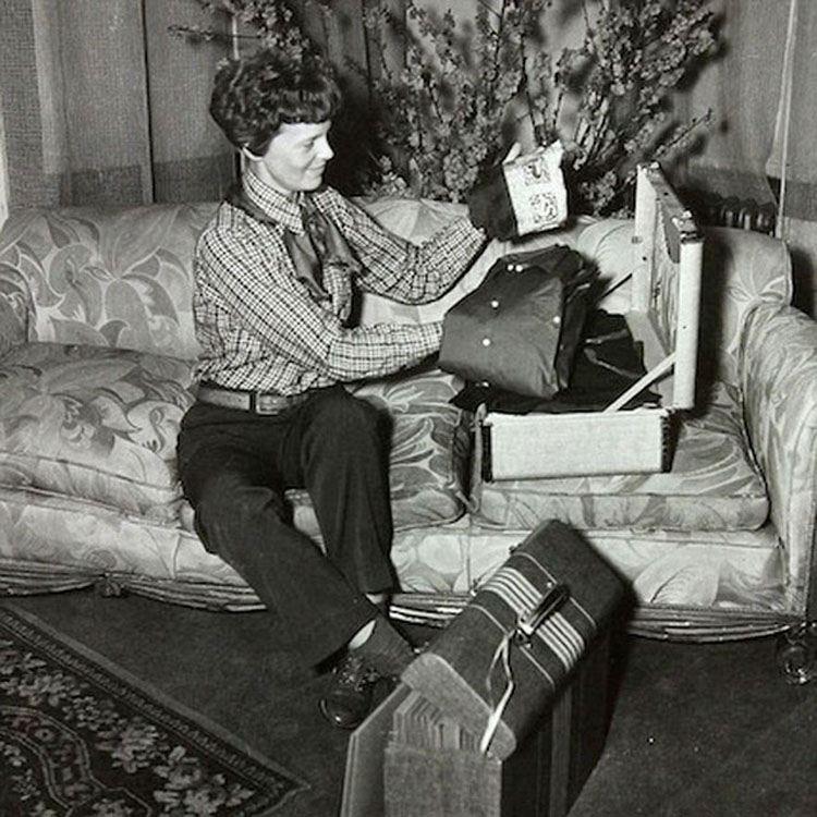 Amelia Earhart's Final Photograph