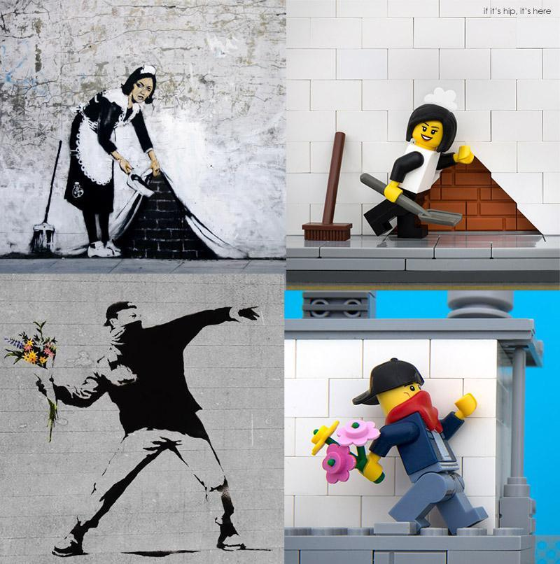 Bricksy vs. Banksy Comparison