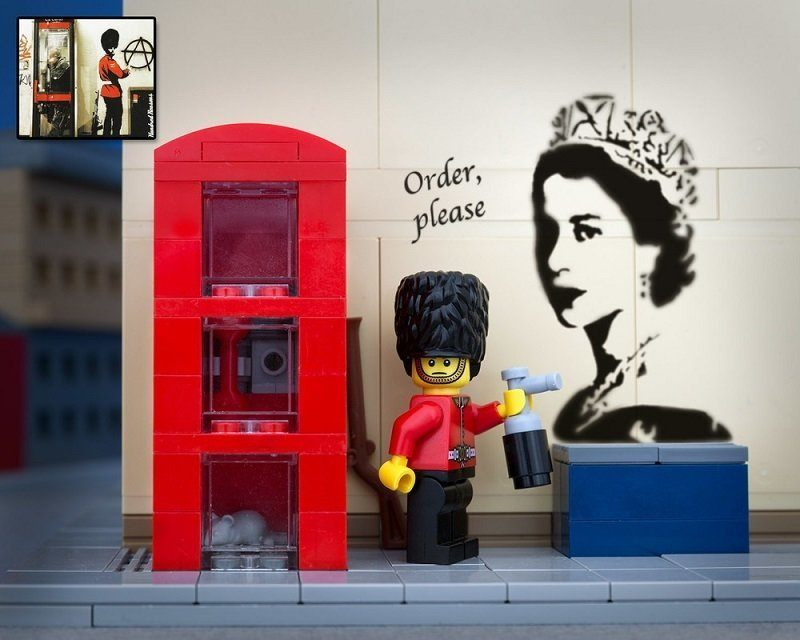Banksy Recreation London