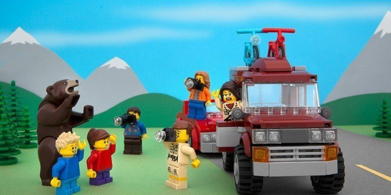 The Great North LEGO series
