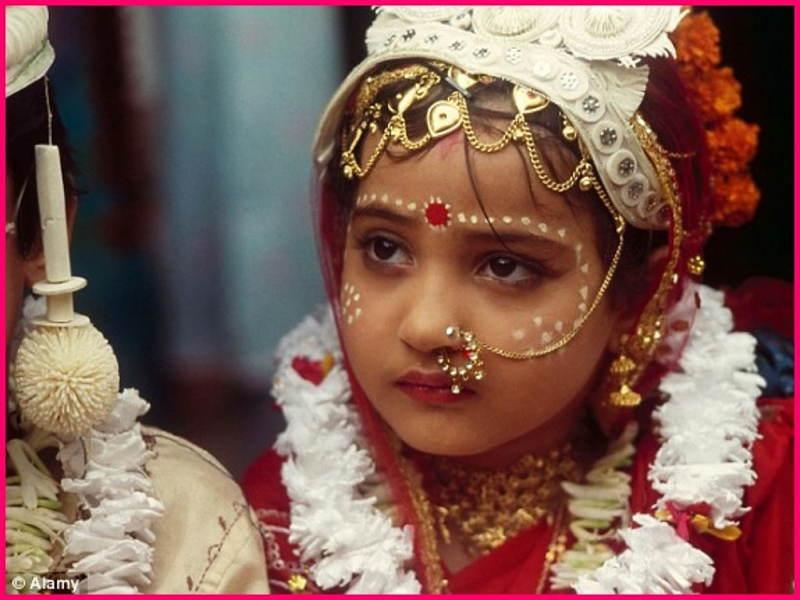 Child Brides India Jewelry