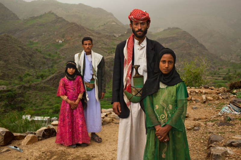 Child Brides Yemen Family