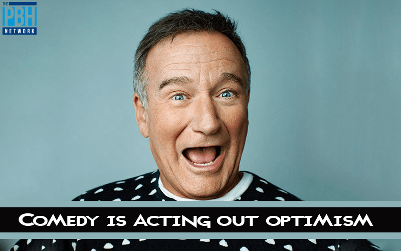 Robin Williams Quotes About Comedy