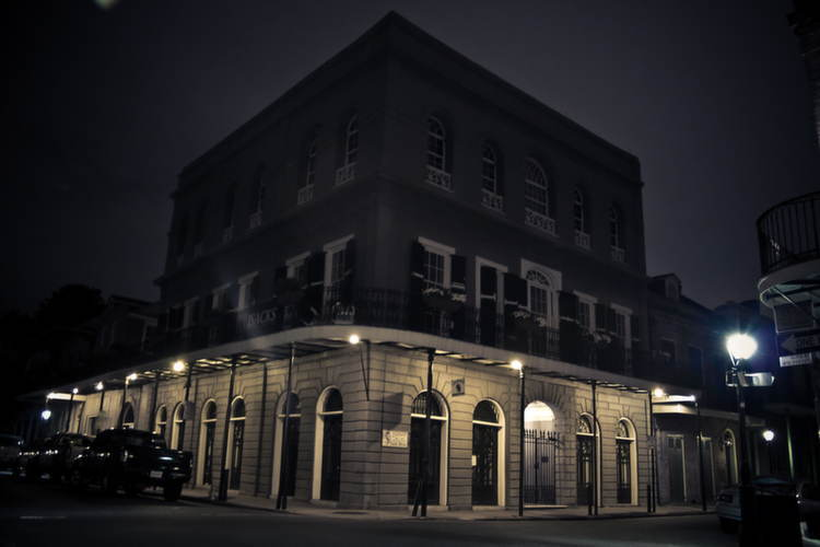 Creepiest Places Lalaurie Night