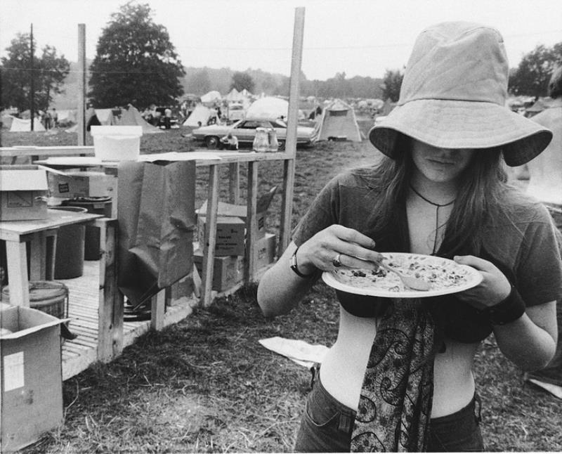 Eating At Woodstock