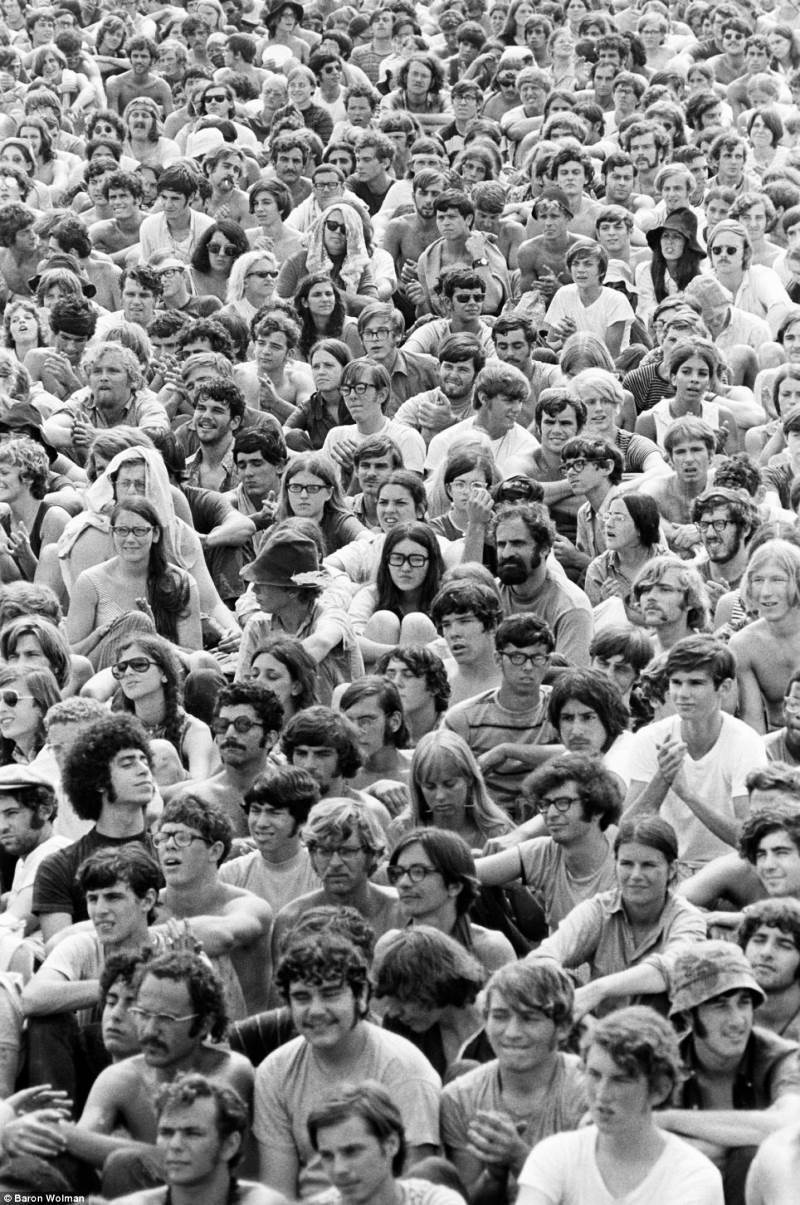 46 Years Ago Today, 500,000 People Descended On A Farm For The Greatest Music Festival Of All Time Faces-of-woodstock