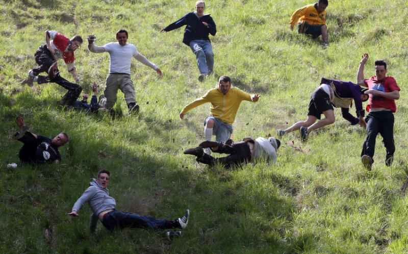 Injured During Cheese Rolling