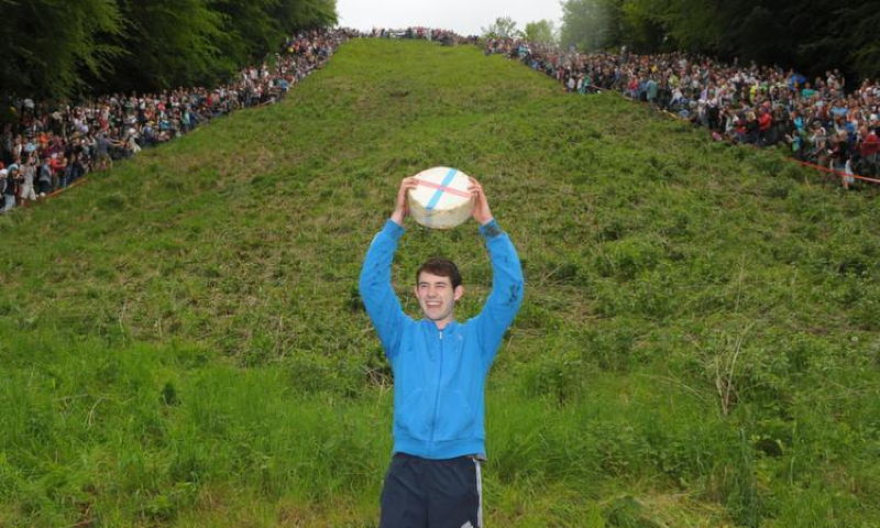 Bizarre Festivals Cheese Rolling