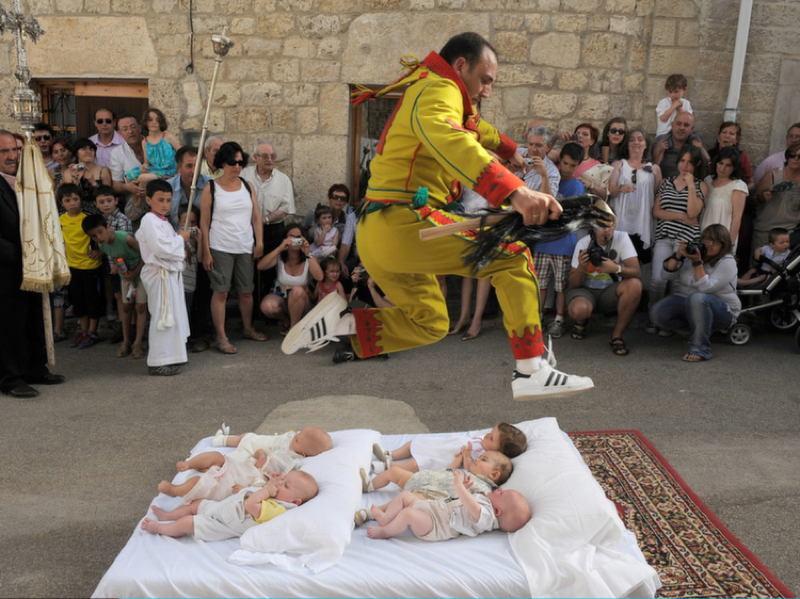 Bizarre Festivals Colacho Jump