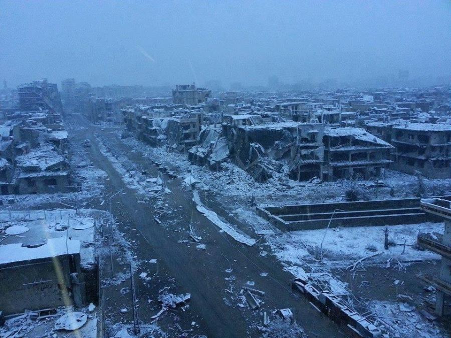 Homs Syria 2014