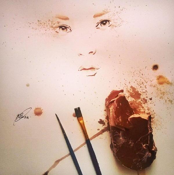 Ice Cream Paintings Portrait
