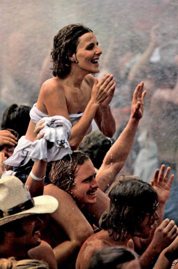 46 Years Ago Today, 500,000 People Descended On A Farm For The Greatest Music Festival Of All Time In-the-rain