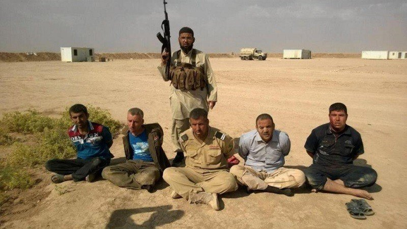2014 ISIS Captured Soldiers
