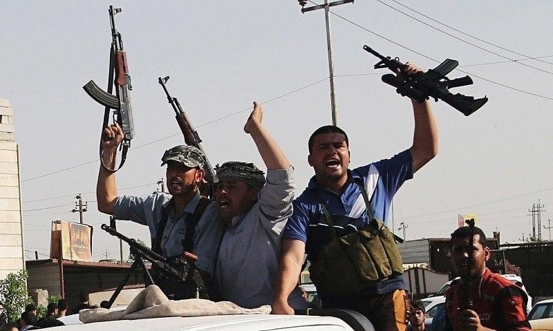 ISIS 2014 Iraq Militants