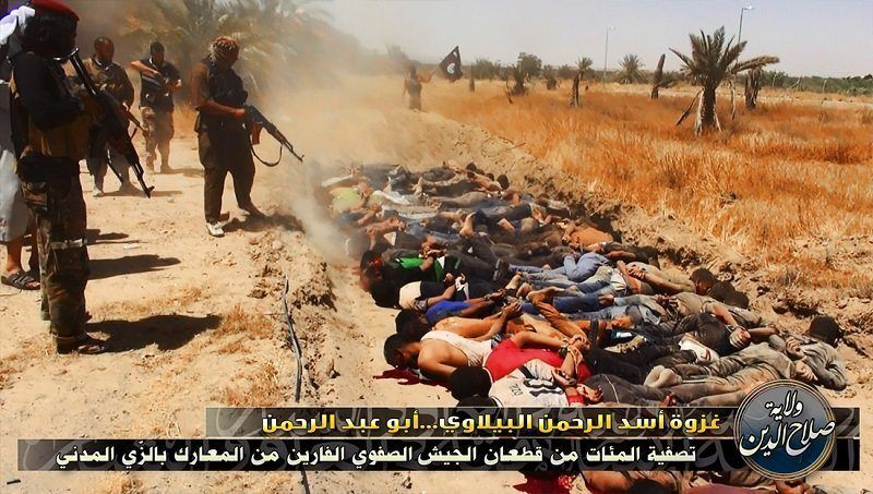 M-16 ISIS Executions