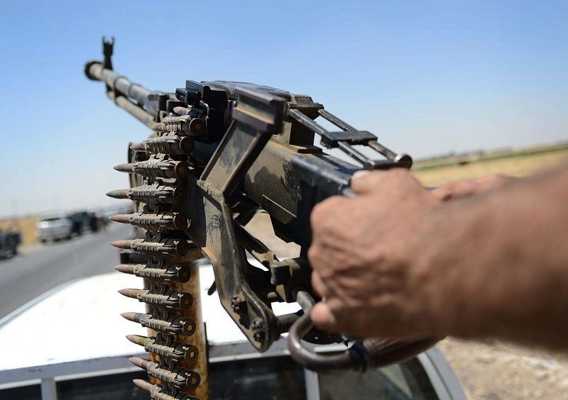 Peshmerga in 2014