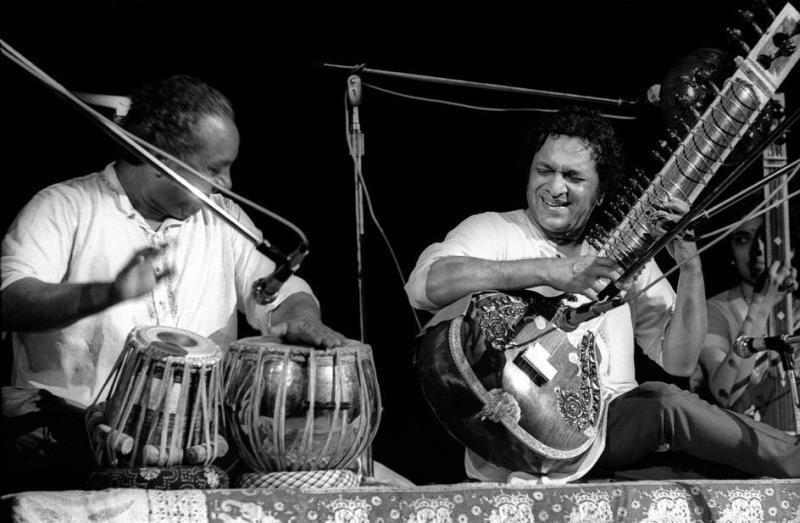 Jamming On The Sitar