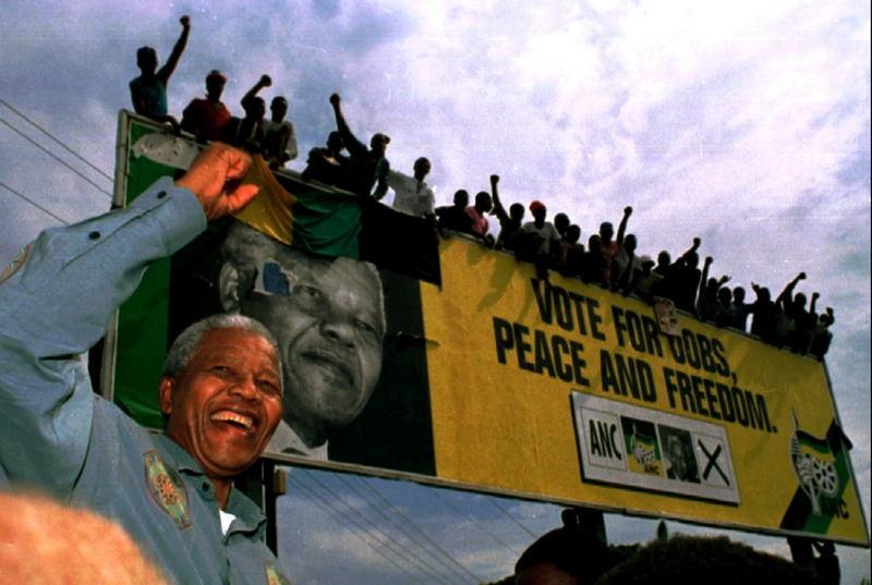 Kevin Carter With Nelson Mandela