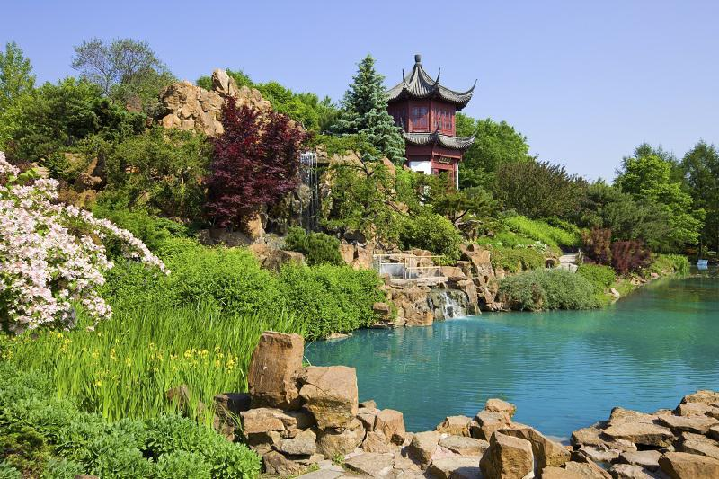 Cultural Gardens in Montreal