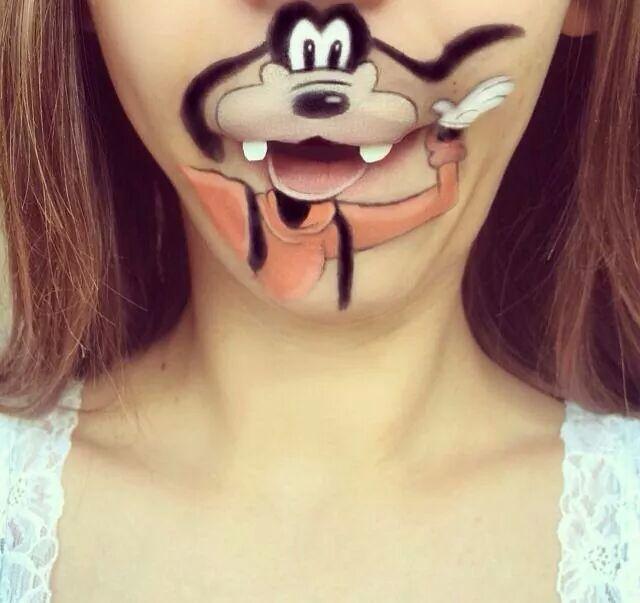Mouthful Makeup Goofy