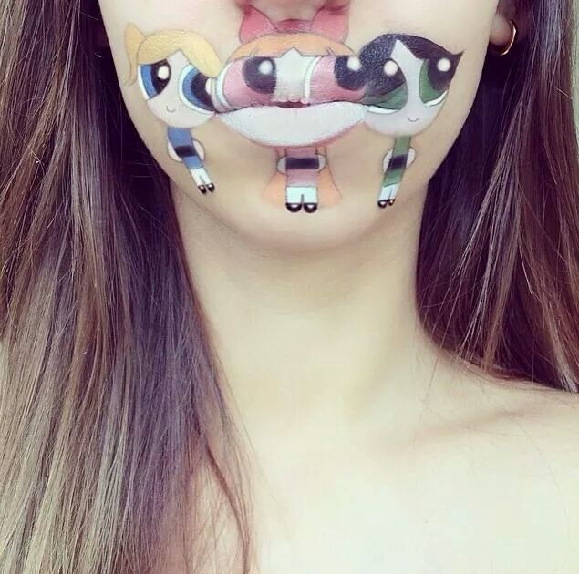 Mouthful Makeup Powerpuff