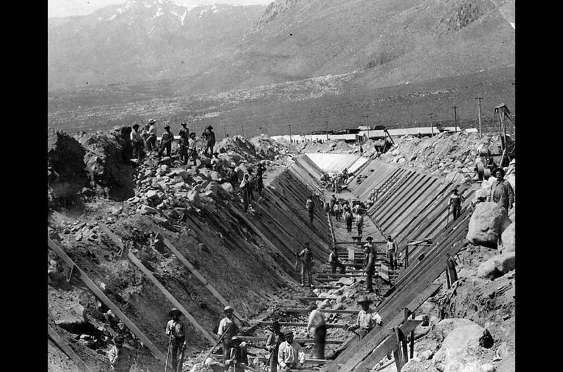 Owens Valley Protests Aqueduct