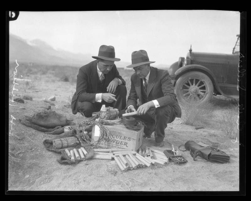 Owens Valley Protests Dynamite Kit