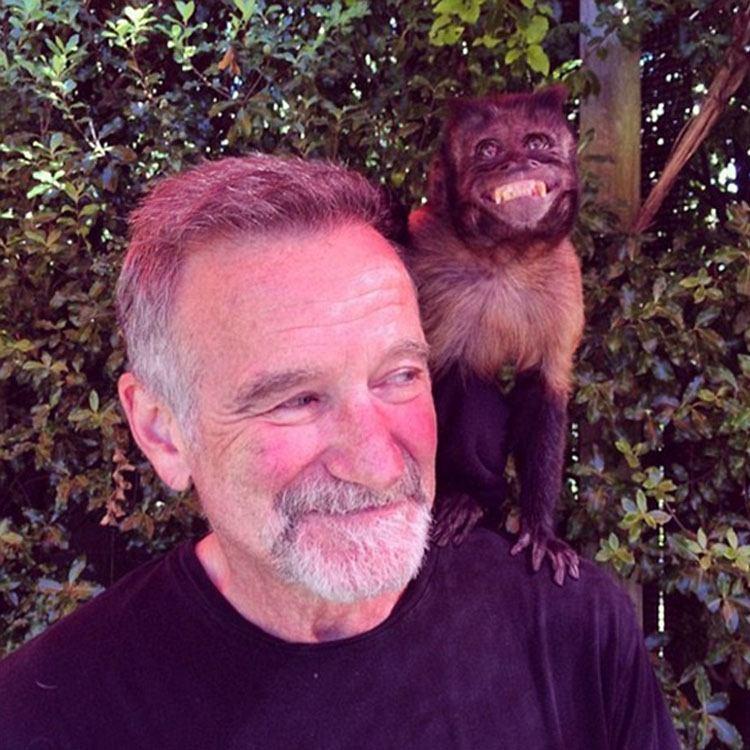 Robin Williams Last Photo