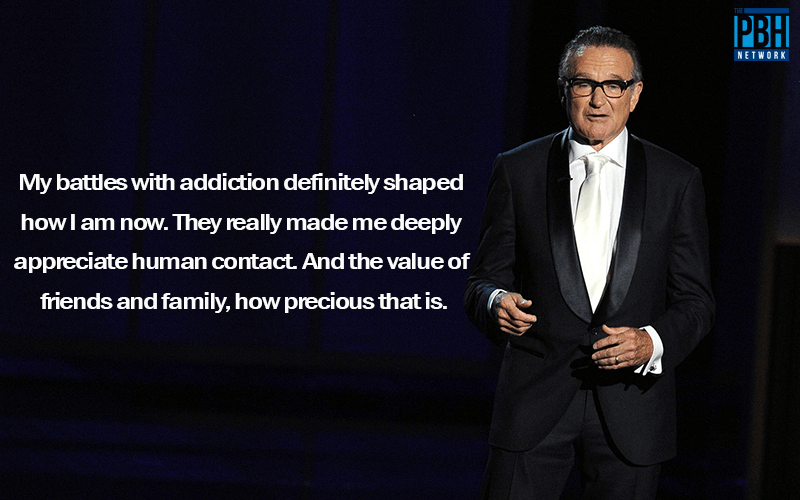 Robin Williams Quotes On Battling Addiction