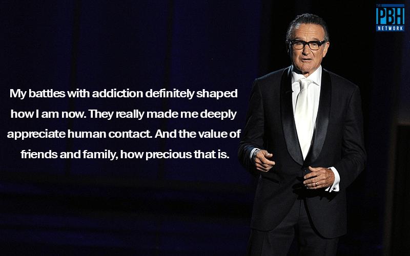 Robin Williams Quotes On Battling Addiction