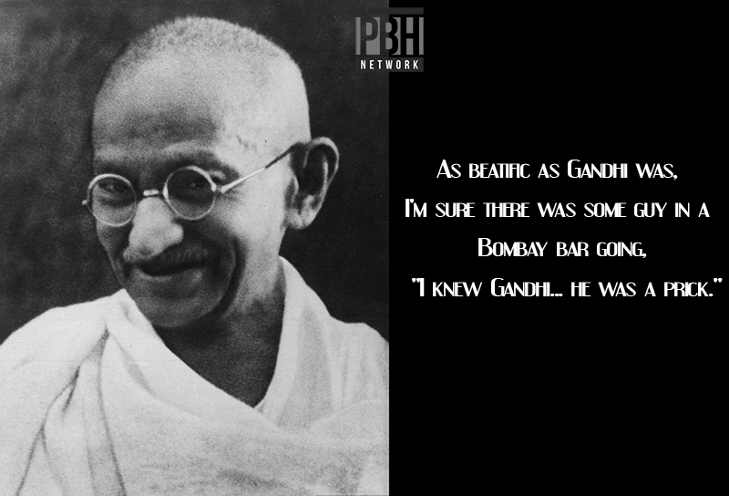 Robin Williams Quotes On Gandhi