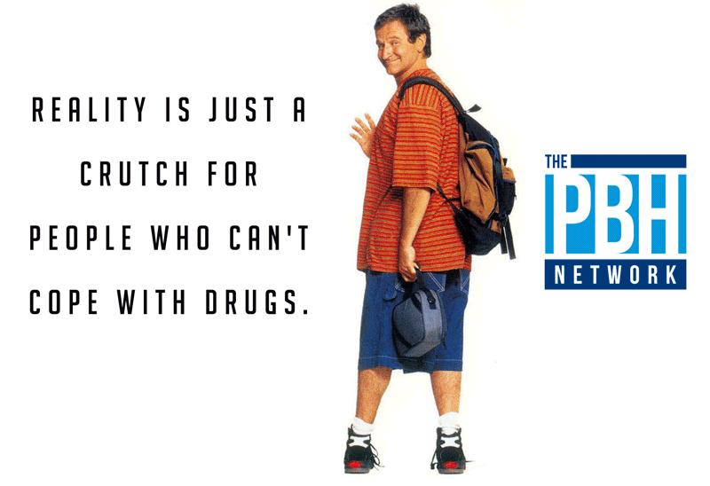 Robin Williams Reality Is A Crutch