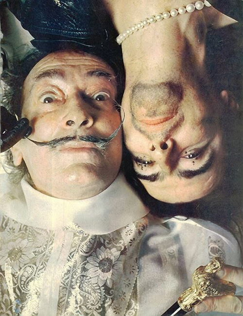 Salvador Dali And Alice Cooper Photo