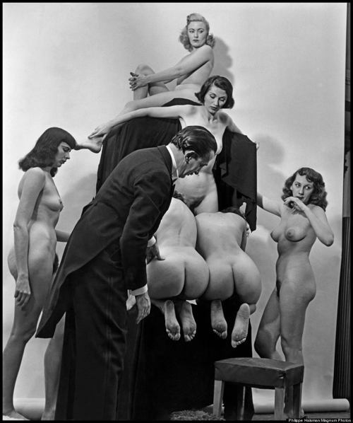 Salvador Dali With Butts