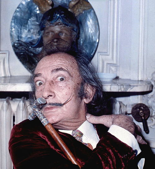 Old Salvador Dali