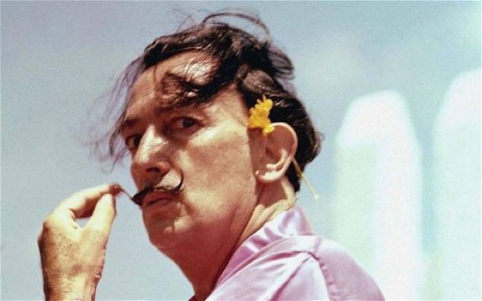 Salvador Dali Color Photograph