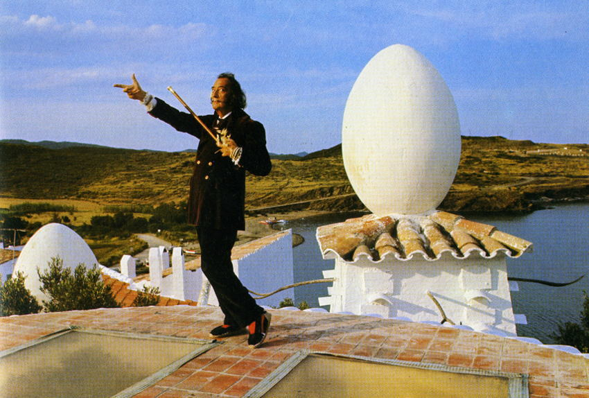 Salvador Dali Egg