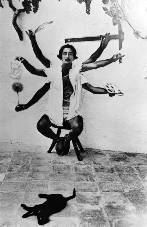 Salvador Dali Indian