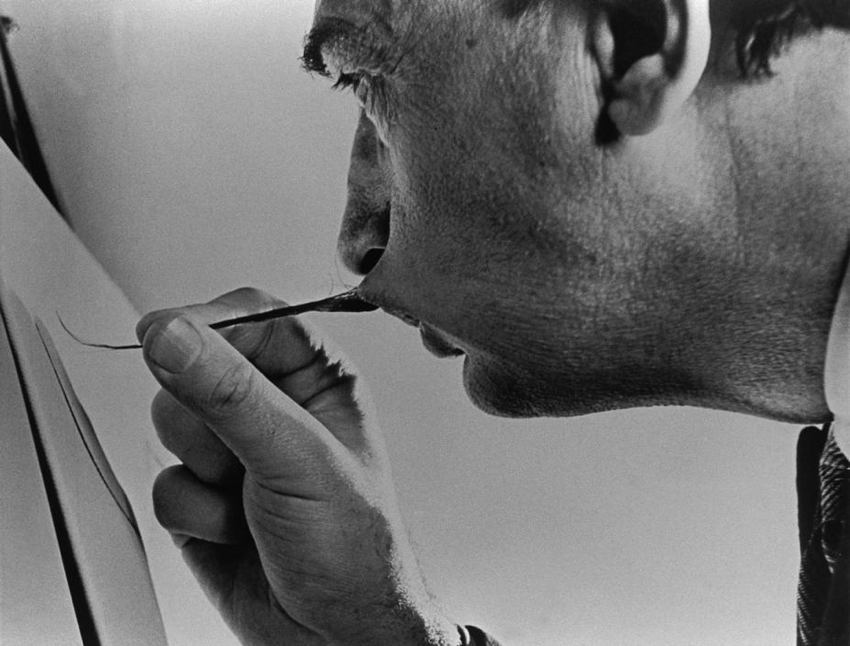 Dali Paint Stache