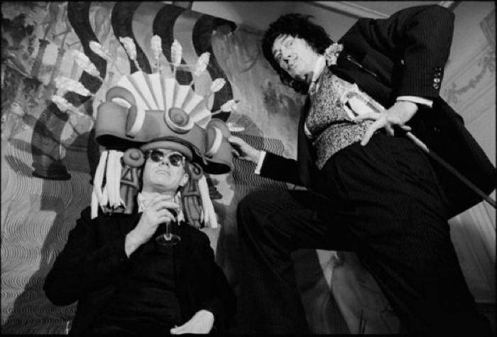Salvador Dali And Andy Warhol