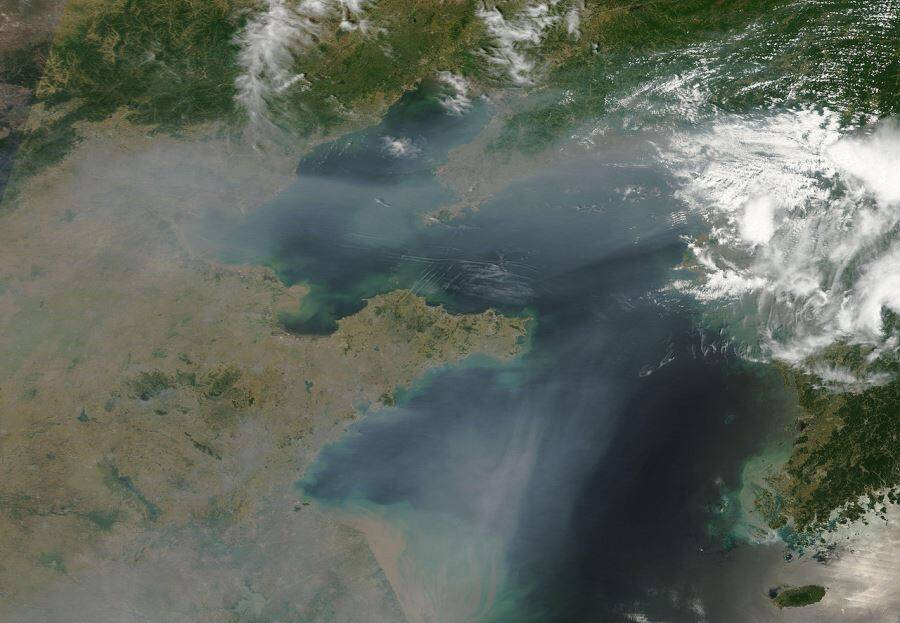 Satellite Image Of China Smog
