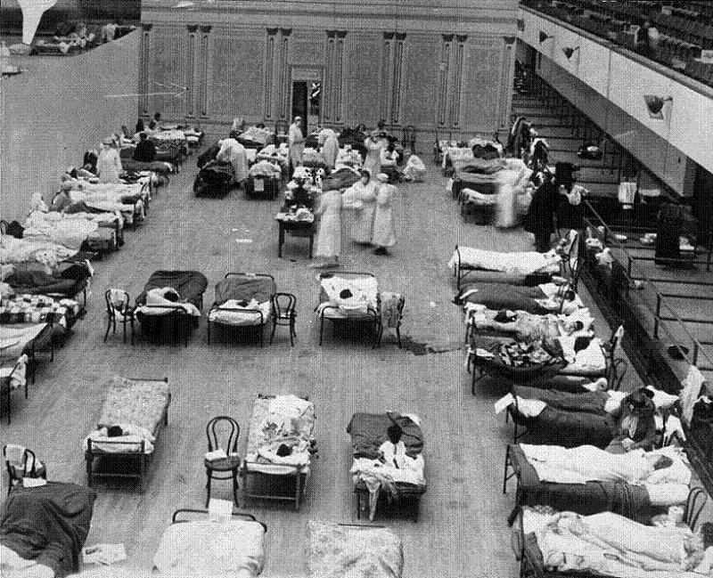 Scary Diseases Spanish Flu